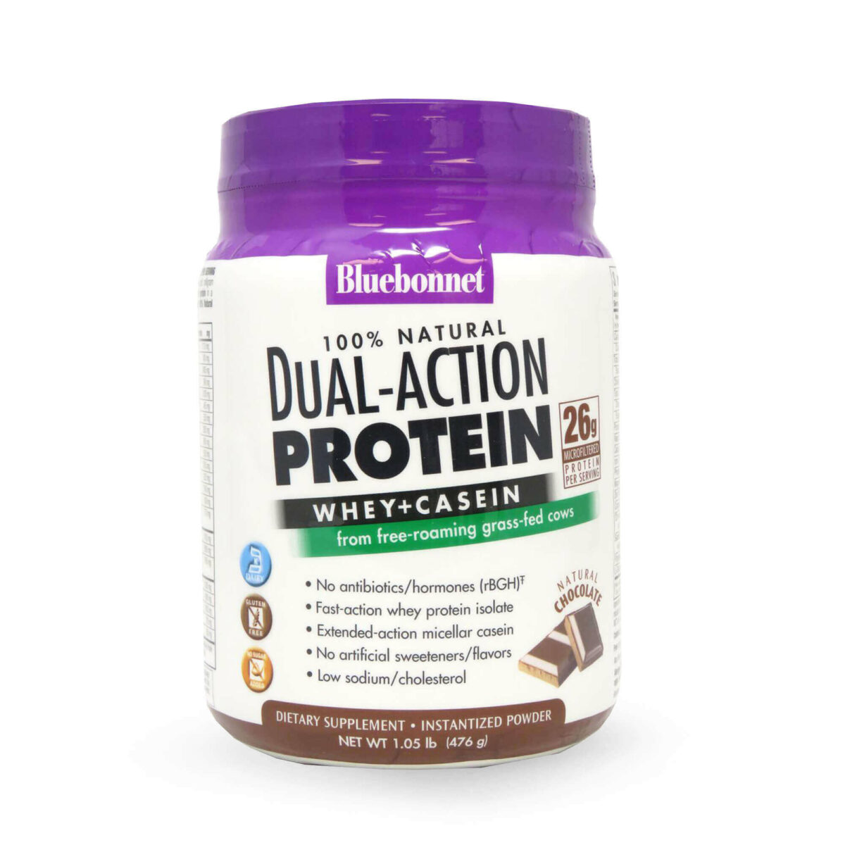 Dual Action Whey Protein + Caseína
