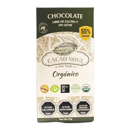 Chocolate Orgánico 50% Cacao
