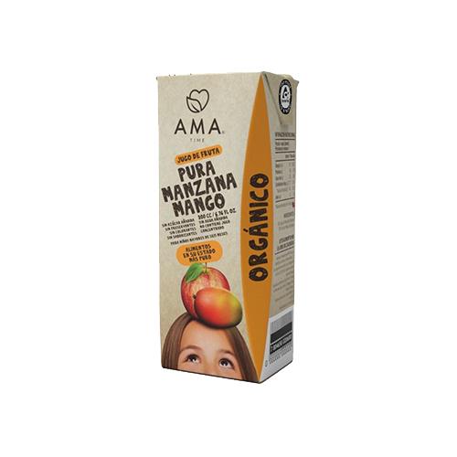 jugo de manzana mango