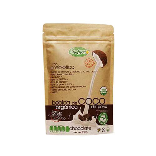 Leche de coco Sabor Chocolate