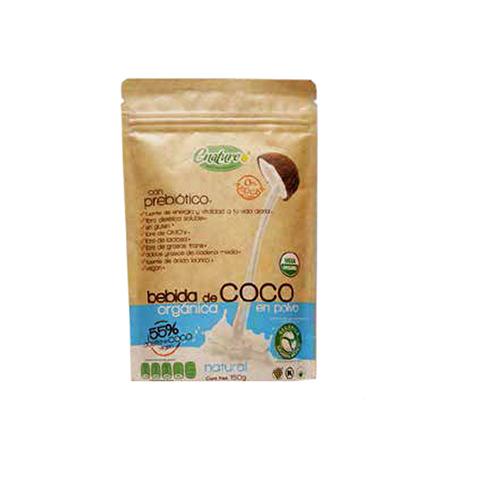 Leche de coco orgánica en polvo