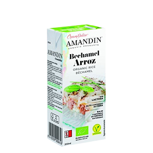 crema bechamel de arroz