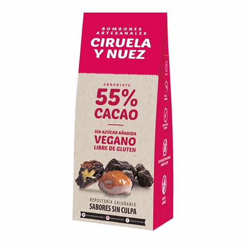 Bombones Ciruela - Nuez