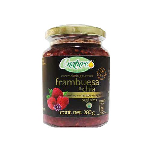 Mermelada Sin Azúcar Frambuesa/Chia