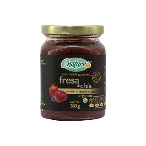 Mermelada Sin Azucar Frutilla/Chia