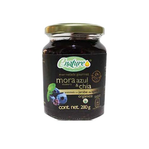 Mermelada Sin Azúcar Mora Azul/Chia