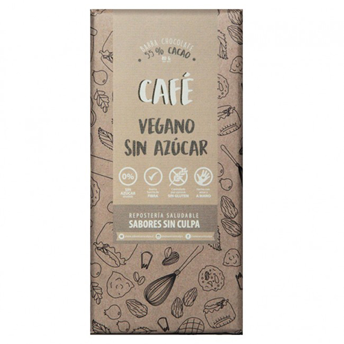 Chocolate amargo con Cafe
