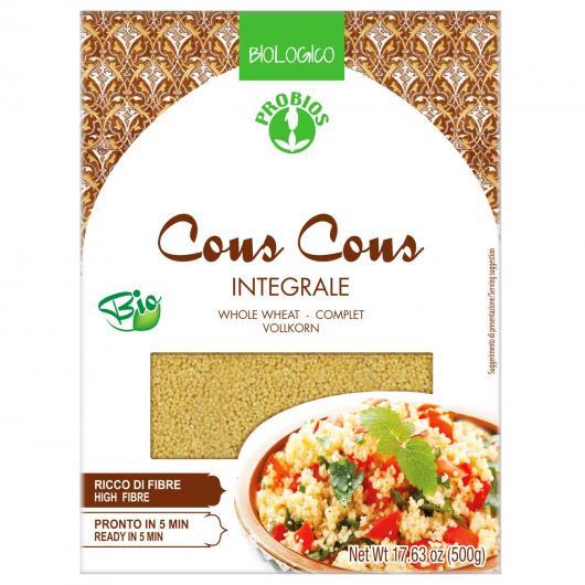 Cous Cous de Trigo Integral Orgánico