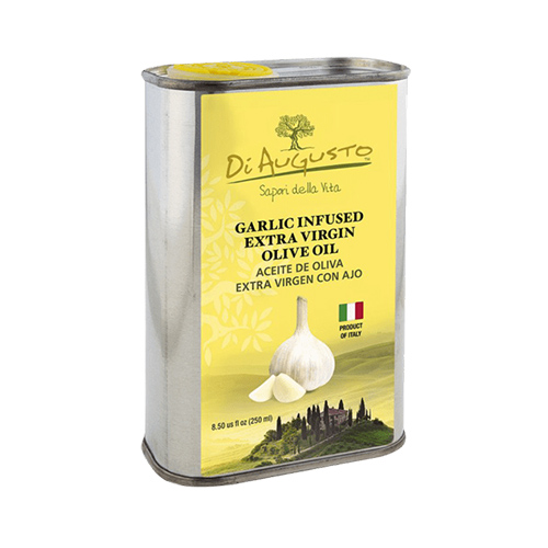 Aceite de Oliva Extra Virgen Infusionado con Ajo DiAugusto 250 ml