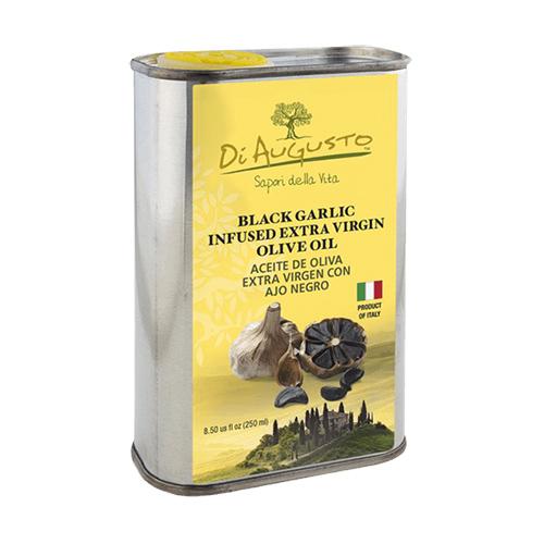 Aceite de Oliva Extra Virgen Infusionado con Ajo Negro DiAugusto 250 ml