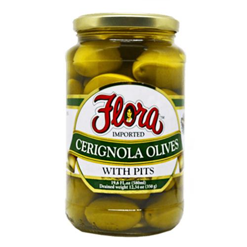 Aceitunas Cerignola Flora 540 ml
