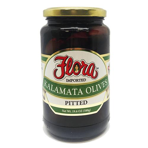 Aceitunas Kalamata Descarozadas Flora 530 ml