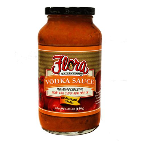 Salsa de Tomate con Vodka Flora 680 grs