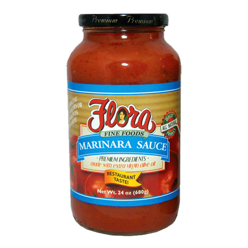 Salsa Marinara Flora 680 grs