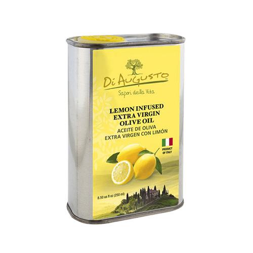 Aceite de Oliva Extra Virgen Infusionado con Limon DiAugusto 250 ml