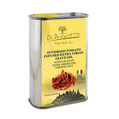 Aceite de Oliva Extra Virgen Infusionado con Tomates Secos DiAugusto 250 ml