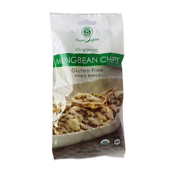 Chips de Poroto Mung Sin Gluten Kokoro Bio 50 grs