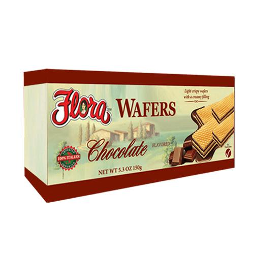 Obleas con Chocolate Flora 150 grs