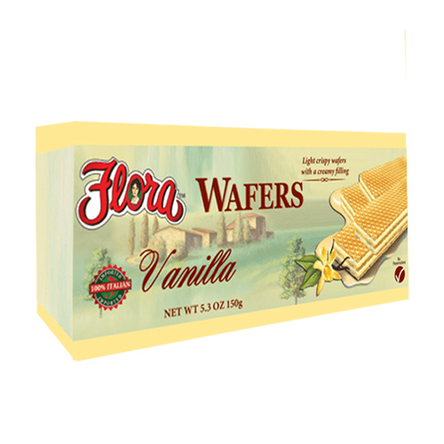 Obleas con Vainilla Flora 150 grs