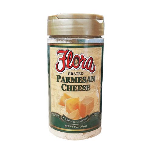 Queso Parmesano Rallado Flora 227 grs